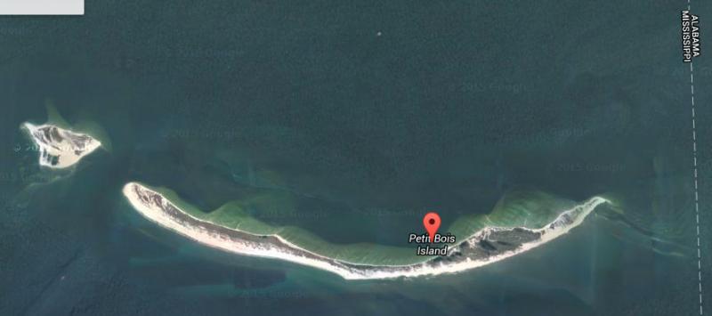 Gulfport And Petit Bois Island Mississippi Living Adrift