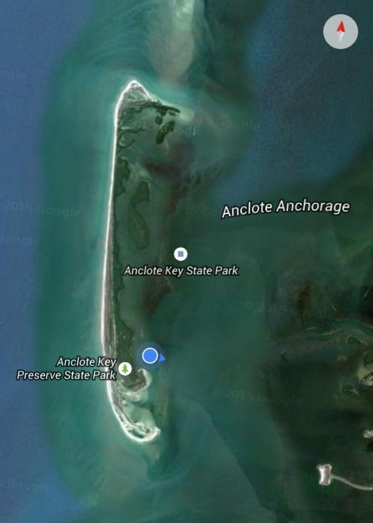 anclote above